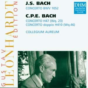 Leonhardt Edition Vol.1- JS & CPE Bach: Keyboard Concertos