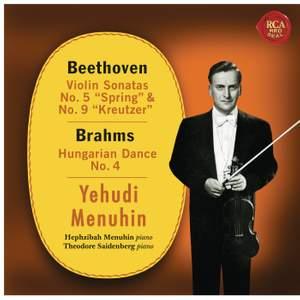 Beethoven: Violin Sonatas No. 5 & 9 and Brahms: Hungarian Dance No. 4
