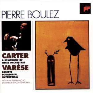 Boulez conducts Carter & Varèse