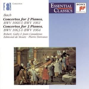 Essential Classics IX Bach: Concertos for 2 & 3 Pianos