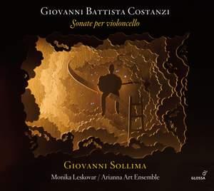 Costanzi: Cello Sonatas Product Image