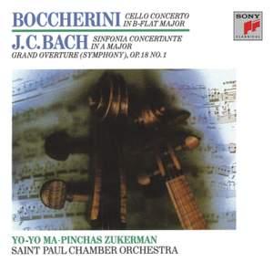 Boccherini: Cello Concerto & JC Bach: Sinfionia Concertante