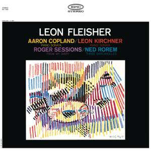 Copland, Sessions, Kirchner & Rorem: Piano Works