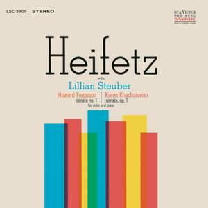Howard Ferguson & Karen Khachaturian: Violin Sonatas