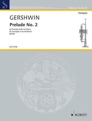 Gershwin, G: Prelude No. 2