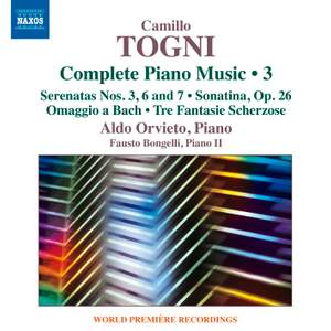 Togni: Complete Piano Music Volume 3