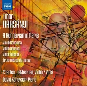 Tibor Harsányi: A Hungarian in Paris