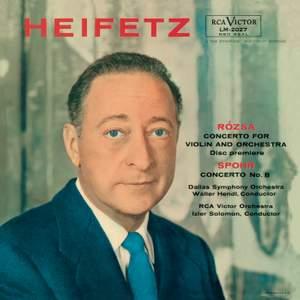 Rozsa & Spohr: Violin Concertos & Tchaikovsky: Sérénade mélancolique
