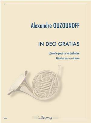 Alexandre Ouzounoff: In deo gratias (concerto)
