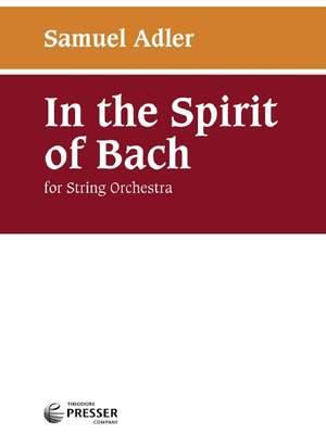 Samuel Adler: In The Spirit of Bach