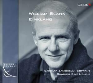 Blank, W: Book for String Quartet: Einklang