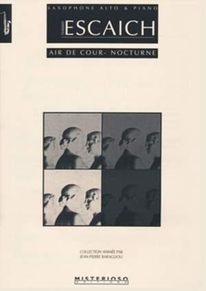 Thierry Escaich: Air de cour - Nocturne