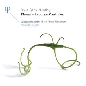 Stravinsky: Threni - Requiem Canticles Product Image