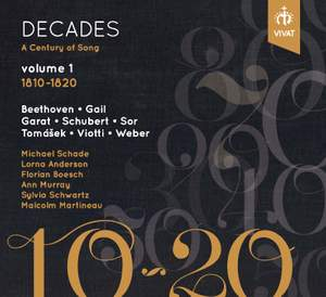 A Century of Song Vol. 1 (1810-1820) Product Image