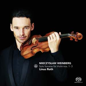 Weinberg: Solo Sonatas for Violin Nos. 1 - 3 Product Image