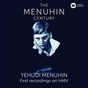 Menuhin - The First Recordings on HMV