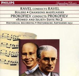 Ravel conducts Ravel; Prokofiev conducts Prokofiev