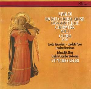 Vivaldi: Sacred Choral Music, Vol. 1