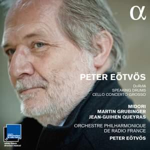 Eötvös: DoReMi, Cello Concerto Grosso & Speaking Drums Product Image