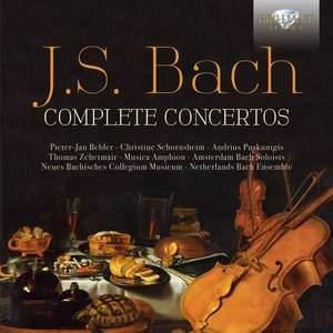 JS Bach: Complete Concertos Product Image