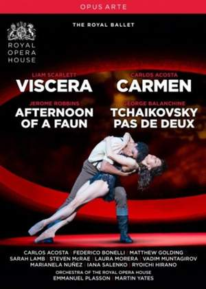 Viscera, Carmen, Afternoon of a Faun & Tchaikovsky pas de deux Product Image