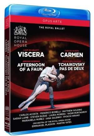 Viscera, Carmen, Afternoon of a Faun & Tchaikovsky pas de deux