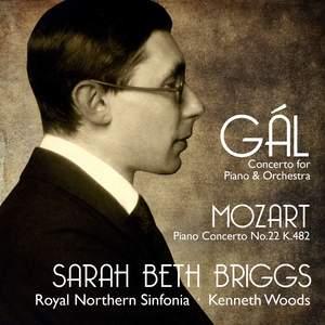 Hans Gál & Mozart: Piano Concertos