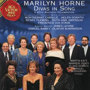 Divas in Song at Carnegie Hall, New York City, December 8, 1991
