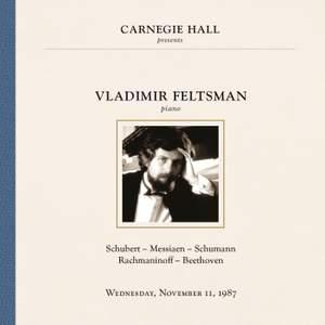 Vladimir Feltsman at Carnegie Hall, New York City, November 11, 1987