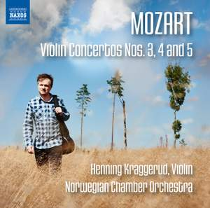 Mozart: Violin Concertos Nos. 3, 4 and 5 Product Image