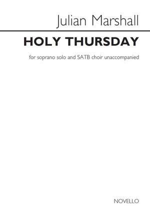 Julian Marshall: Julian Marshall: Holy Thursday