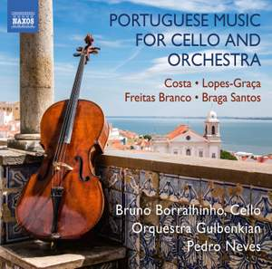 Portuguese Music for Cello and Orchestra Product Image