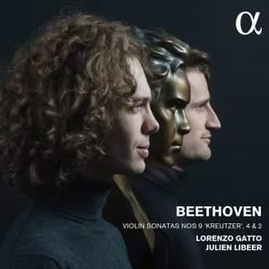 Beethoven: Violin Sonatas Nos. 2, 4 & 9 'Kreutzer'