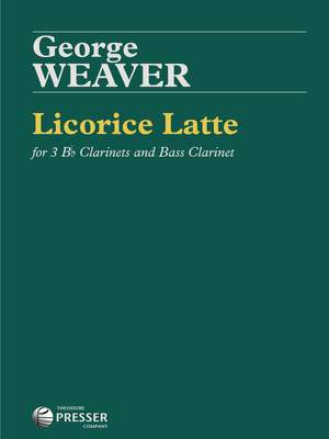 George Weaver: Licorice Latte Product Image