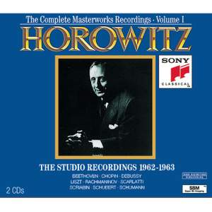 The Complete Masterworks Recordings Vol. I