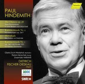 Paul Hindemith 1895 - 1963