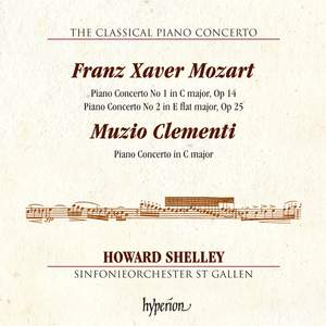 The Classical Piano Concerto 3: F X Mozart & Clementi Product Image