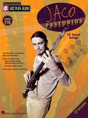Pastorius, Jaco: Jaco Pastorius Jazz Play-Along Vol.116