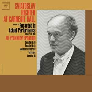 Sviatoslav Richter Live at Carnegie Hall: All Prokofiev Programme