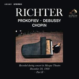 Sviatoslav Richter Plays Prokofiev, Debussy and Chopin