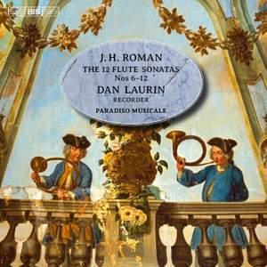Roman: The 12 Flute Sonatas: Nos 6 - 12 Product Image