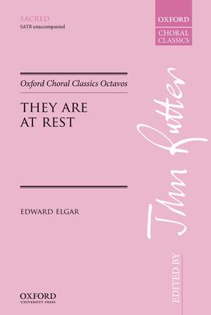 Elgar, Edward: They are at rest