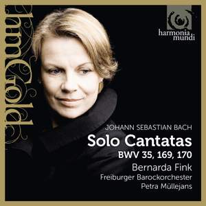 JS Bach: Cantatas for alto Product Image