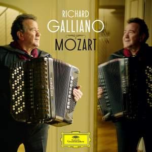 Richard Galliano plays Mozart Product Image