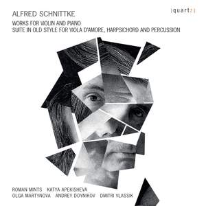 Schnittke: Works for Violin & Piano