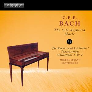 C P E Bach - Solo Keyboard Music Volume 31 Product Image