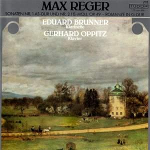 Reger: Clarinet Sonatas & Romanze in G Major Product Image