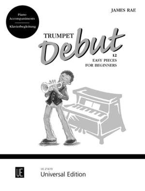 Rae, J: Trumpet Debut – Piano Accompaniments