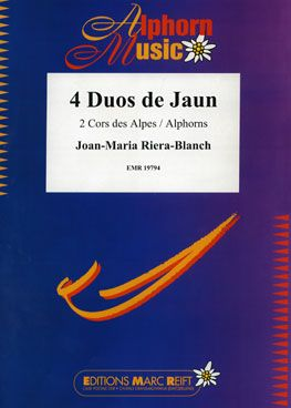 Joan-Maria Riera-Blanch: 4 Duos de Jaun