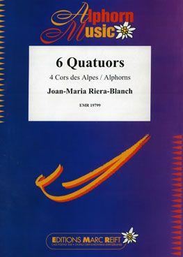 Joan-Maria Riera-Blanch: 6 Quatuors